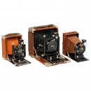 3 Deluxe Plate Cameras, 1910–1926
