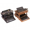 2 Early American Typewriters