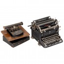 Frolio 5 and Russian Continental Typewriters