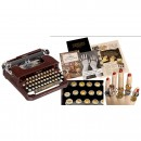 Animal Keyboard Corona Typewriter with Extensive Accessories,