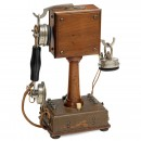 French Desk Eurieult Type 10 Telephone, c. 1915