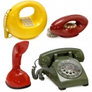 4 Telephones with Striking Designs