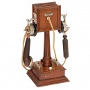 French Table Telephone by J. Wich, c. 1914