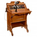 Writing Desk with Western Electric Telephone