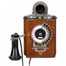 Antique American Dial Wall Phone, c. 1905