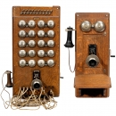 Switchboard and Telephone by Western Electric, c. 1910