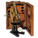 Laboratory Microscope by Ernst Leitz, 1905