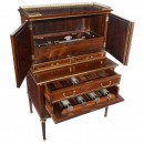 Interchangeable Forte Piccolo Musical Secretaire by George Baker