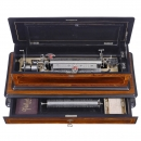 Excelsior Sublime Harmony Interchangeable Musical Box by Paill