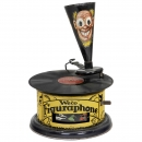 Extremely Rare Figuraphon Toy Gramophone by Weco, c. 1925